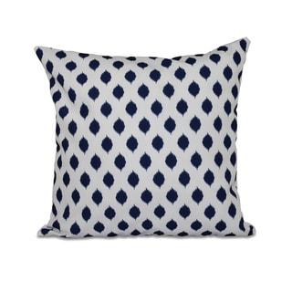 16 x 16-inch Cop-IKAT Geometric Print Outdoor Pillow