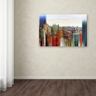 Philippe Hugonnard 'Urban Stretch NYC V' Canvas Art