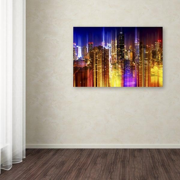 Philippe Hugonnard 'Urban Stretch NYC VII' Canvas Art