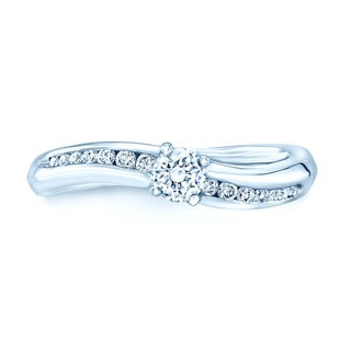Platinum 2/5ct TDW Diamond Promise Ring (H-I, VS1-VS2)