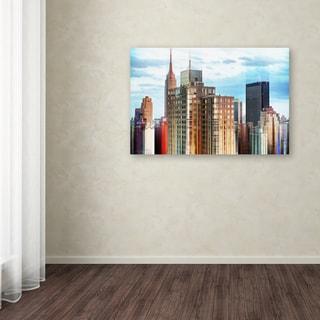 Philippe Hugonnard 'Urban Stretch NYC IX' Canvas Art