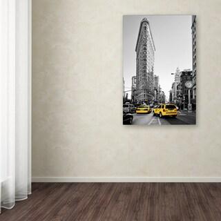 Philippe Hugonnard 'Flatiron Building NYC' Canvas Art