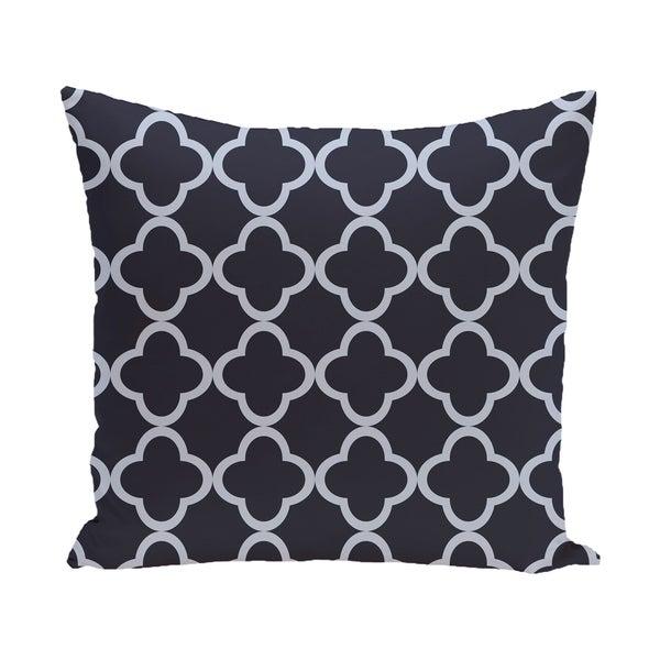16 x 16-inch Marrakech Express Geometric Print Outdoor Pillow