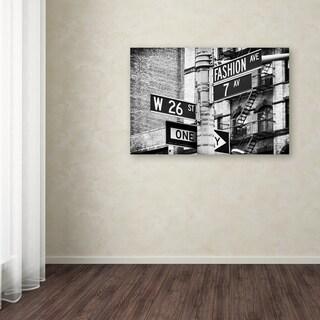 Philippe Hugonnard 'Fashion Avenue NYC' Canvas Art