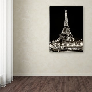 Philippe Hugonnard 'Eiffel Tower Paris' Canvas Art