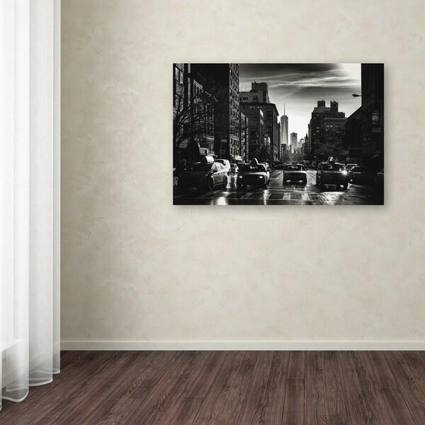 Philippe Hugonnard 'Gotham Taxi NYC' Canvas Art