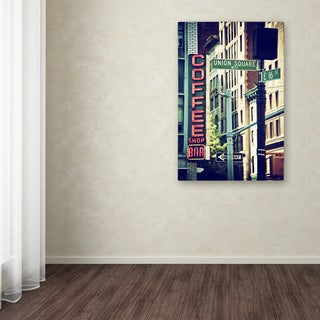 Philippe Hugonnard 'NYC Coffee Bar' Canvas Art