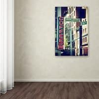 Philippe Hugonnard 'NYC Coffee Bar' Canvas Art - Multi