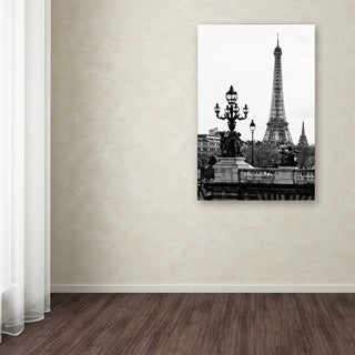 Philippe Hugonnard 'Paris Romantic' Canvas Art