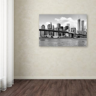 Philippe Hugonnard 'View of Manhattan' Canvas Art