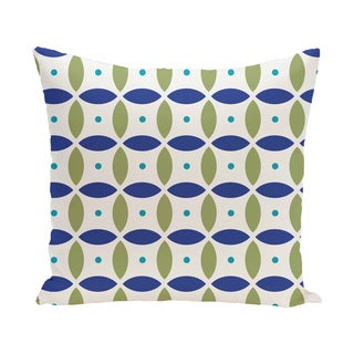 16 x 16-inch Beach Ball Geometric Print Outdoor Pillow