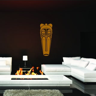 Style and Apply 'African Mask III' Vinyl Wall Art Decal