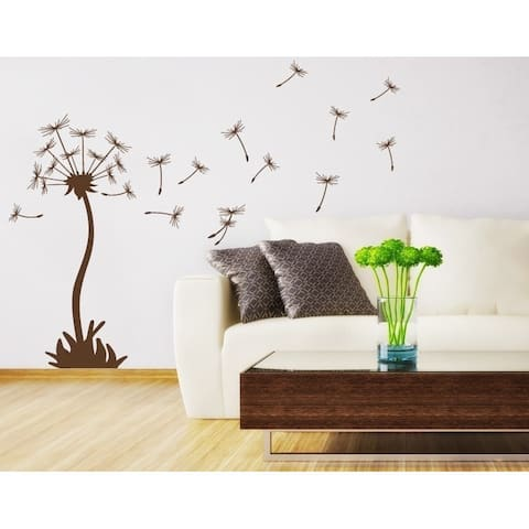 Style and Apply 'Dandelion' Vinyl Wall Art Decal