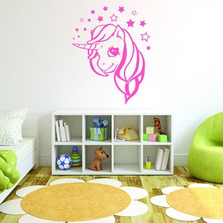 Style and Apply Dreaming Unicorn Vinyl Wall Decal