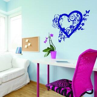 Spring Love' Heart Vinyl Art Wall Decal