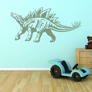 Style and Apply Stegosaurus Dinosaur Vinyl Wall Decal and Sticker Mural Art Home Decor