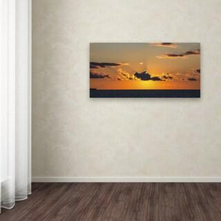 Kurt Shaffer 'Sunset Beauty' Canvas Art