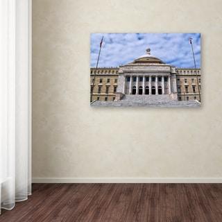 CATeyes 'Capitol of Puerto Rico' Canvas Art