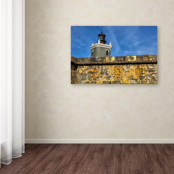CATeyes 'Castillo de San Felipe del Morro 11' Canvas Art - Multi