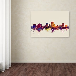 Michael Tompsett 'El Paso Texas Skyline' Canvas Art
