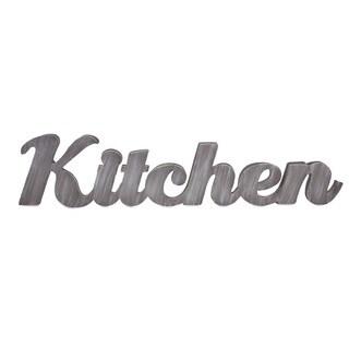 Kitchen Metal Wall Décor