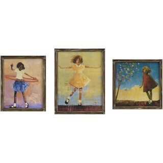 Summer Dress Wall Decor (Set of 3)