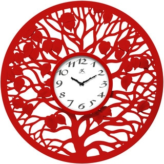 Red Oak 31-inch Wall Clock