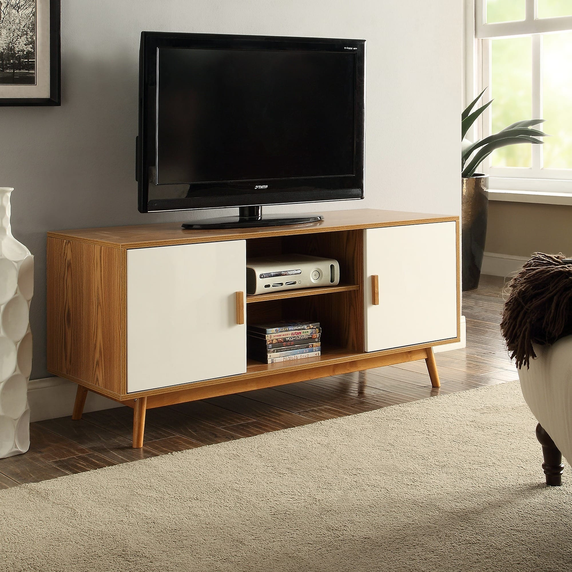 Shop Convenience Concepts Oslo Tv Stand Free Shipping On