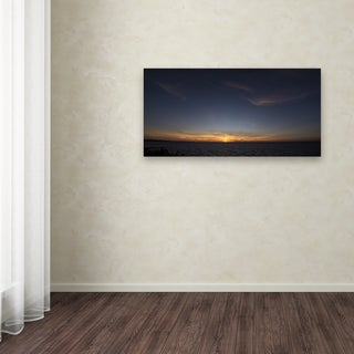Kurt Shaffer 'Sunset Blessing' Canvas Art