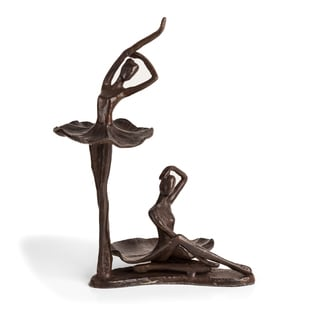 Danya B Ballerina Duo Bronze Sculpture
