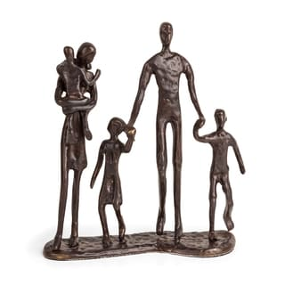 Danya B Family of Five Bronze Sculpture