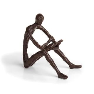 Danya B. Leisure Reading Bronze Sculpture