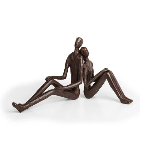 Danya B. Romantic Couple Bronze Sculpture
