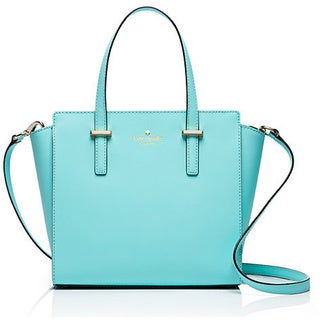 Kate Spade New York Cedar Street Hayden Atoll Blue Small Satchel Handbag