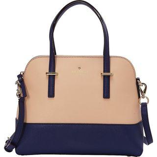 Kate Spade New York Cedar Street Drifting Sand/Ocean Maise Convertible Satchel Handbag