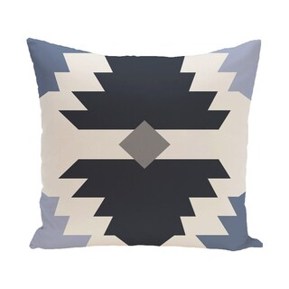 16 x 16-inch Mesa Geometric Print Outdoor Pillow
