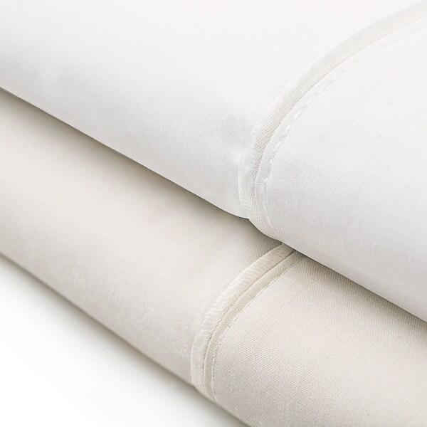 Malouf Classic Italian Collection Cotton Percale Pillowcase Set