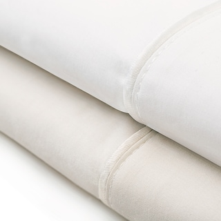Malouf Classic Italian Collection Cotton Percale Pillowcase Set