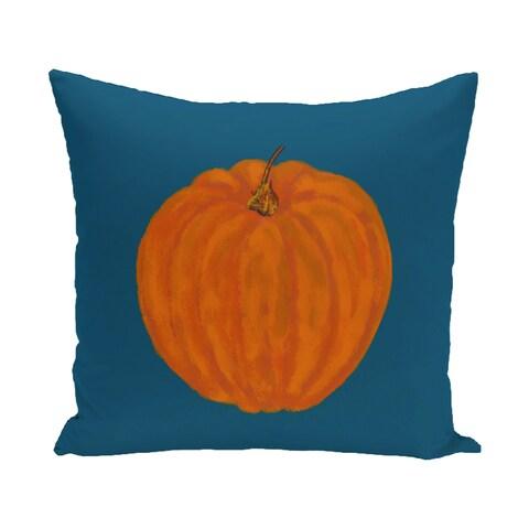 16 x 16-inch Li'l Pumpkin Holiday Print Outdoor Pillow