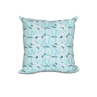 16 x 16-inch Fishwich Animal Print Outdoor Pillow