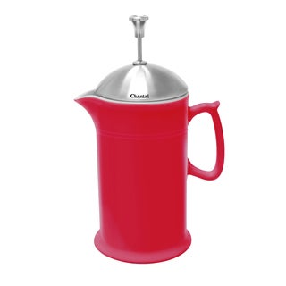 Chantal Red Ceramic French Press