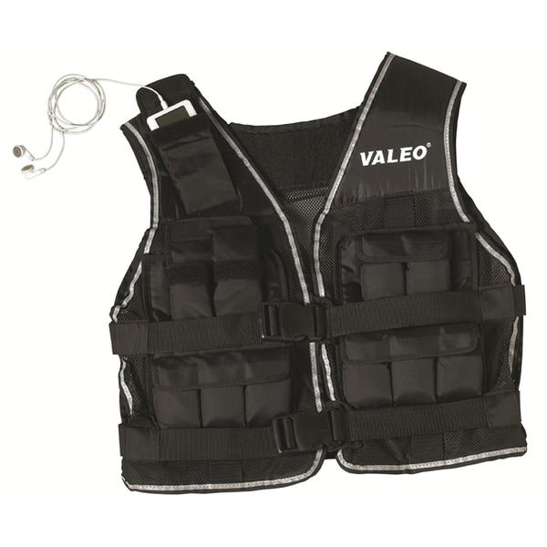 Valeo Black 40-pound Weighted Vest