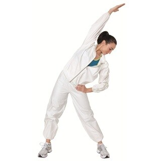 Sportline White Fabric Sauna Suit