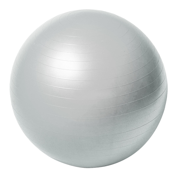 Sportline 65-centimeter Burst Resistant Fitness Ball (No DVD)