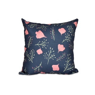 16 x 16-inch Spring Blooms Floral Print Outdoor Pillow