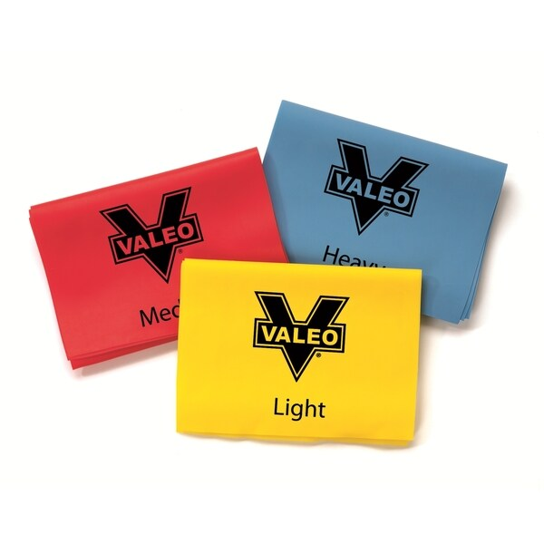 Valeo Set of 3 Exercise Stretch Bands