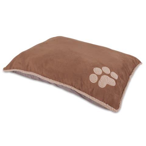 Aspen Pet Shearling Knife-edge Pillow Dog Bed