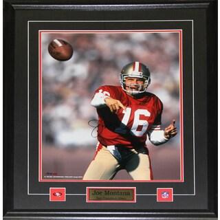 Joe Montana San Francisco 49ers 16-inch x 20-inch Signed Frame