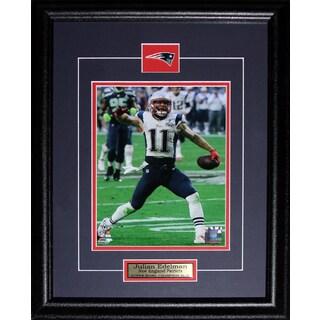 Julian Edelman New England Patriots Superbowl XLIX 8-inch x 10-inch Frame