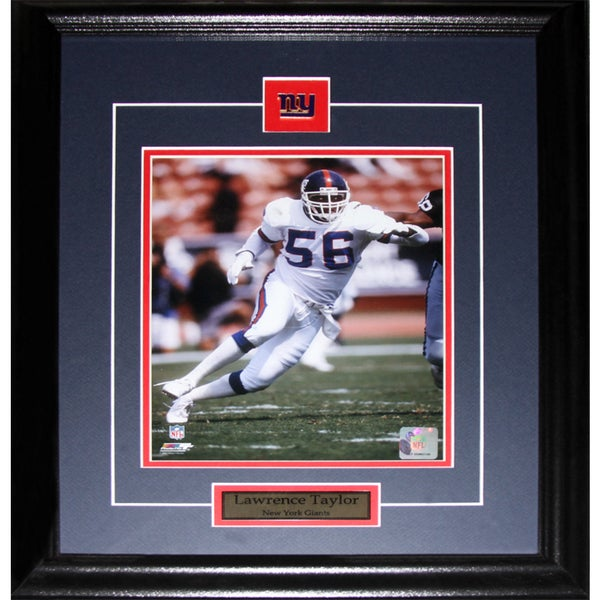 Lawrence Taylor New York Giants 8-inch x 10-inch Frame